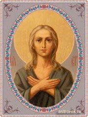 14 апреля преподобная Мария Египетская (Марья – Пустые щи), день святой, традиции и народные приметы