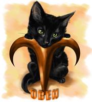 Гороскоп кошек, кошка Овен